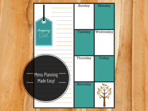 Menu Planning Made Easy!