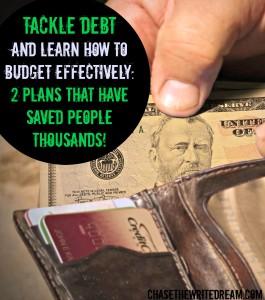 debt snowball plan and 10-10-80 savings plan