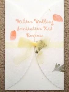Wedding invitation kit review