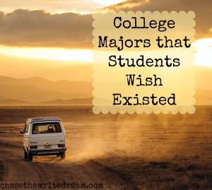 college majors that students wish actually existed