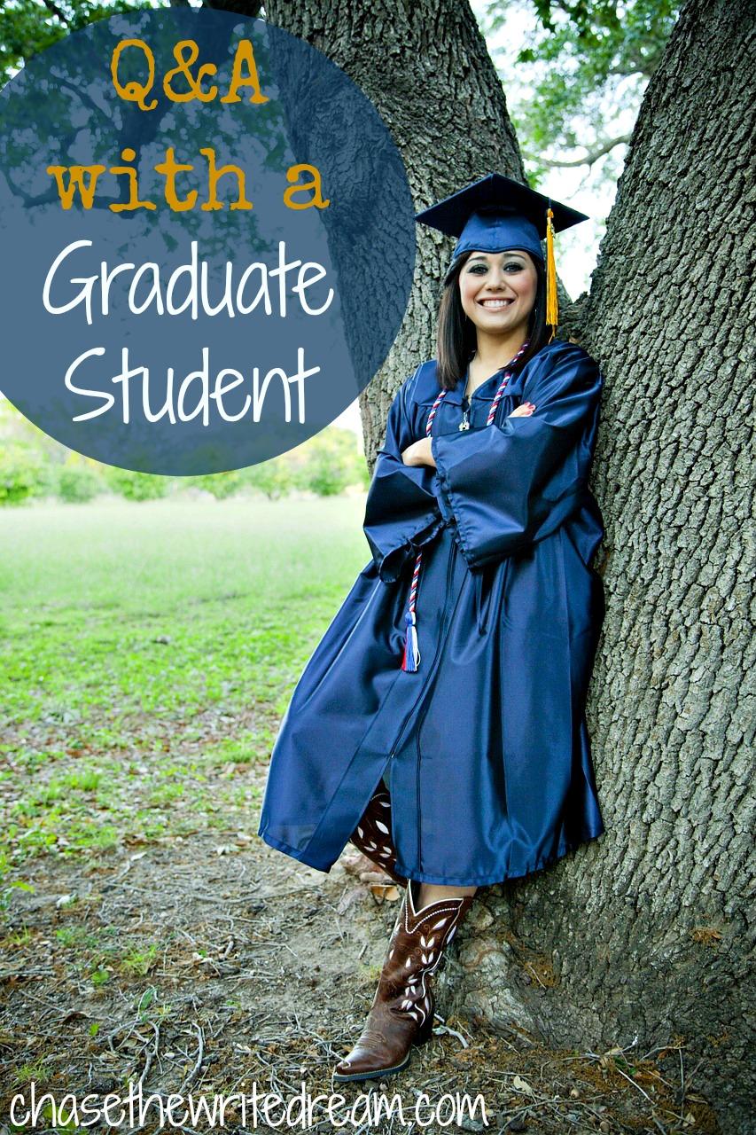 Q&A for deciding whether to pursue a graduate degree