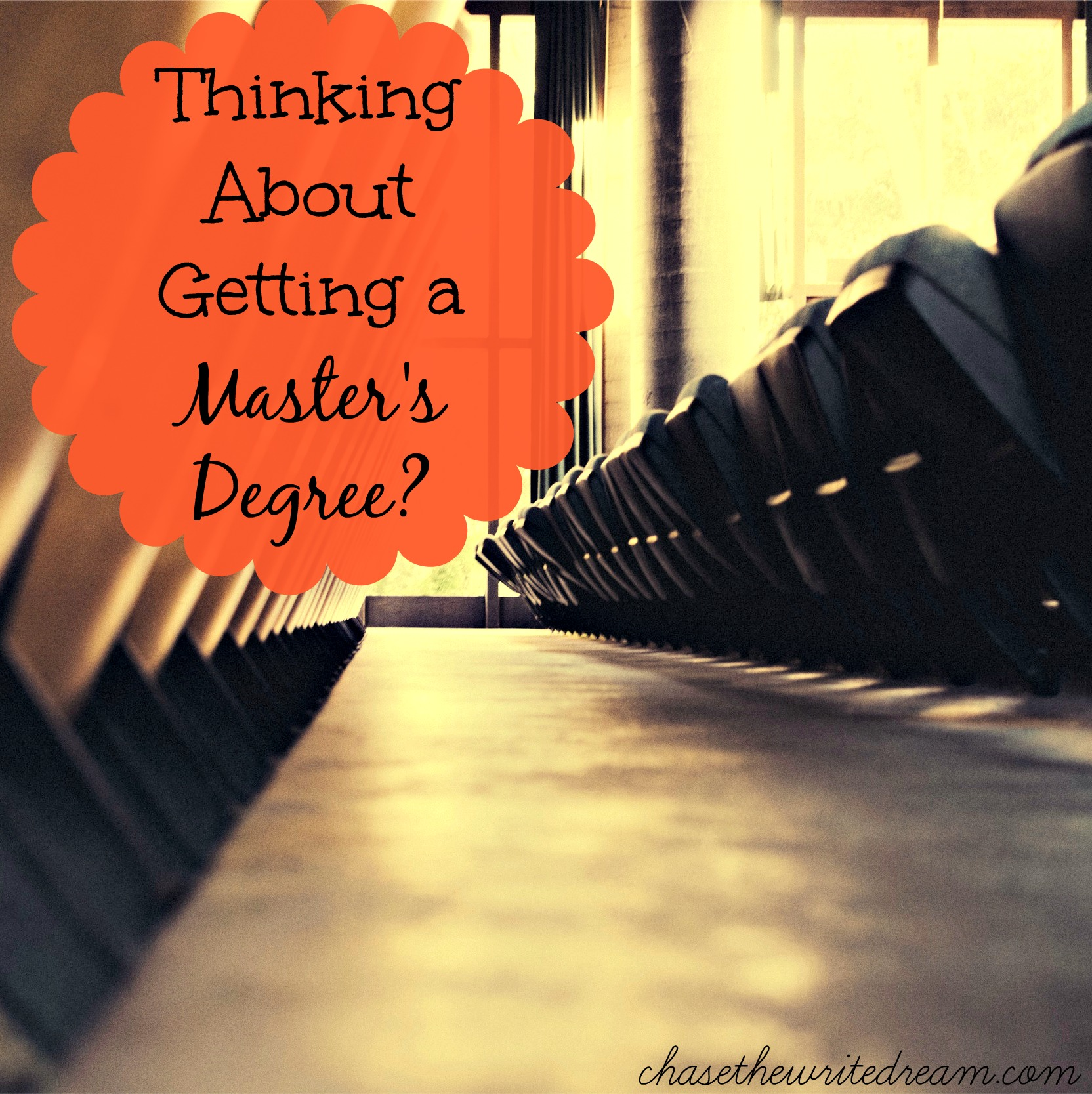 getting a master's degree