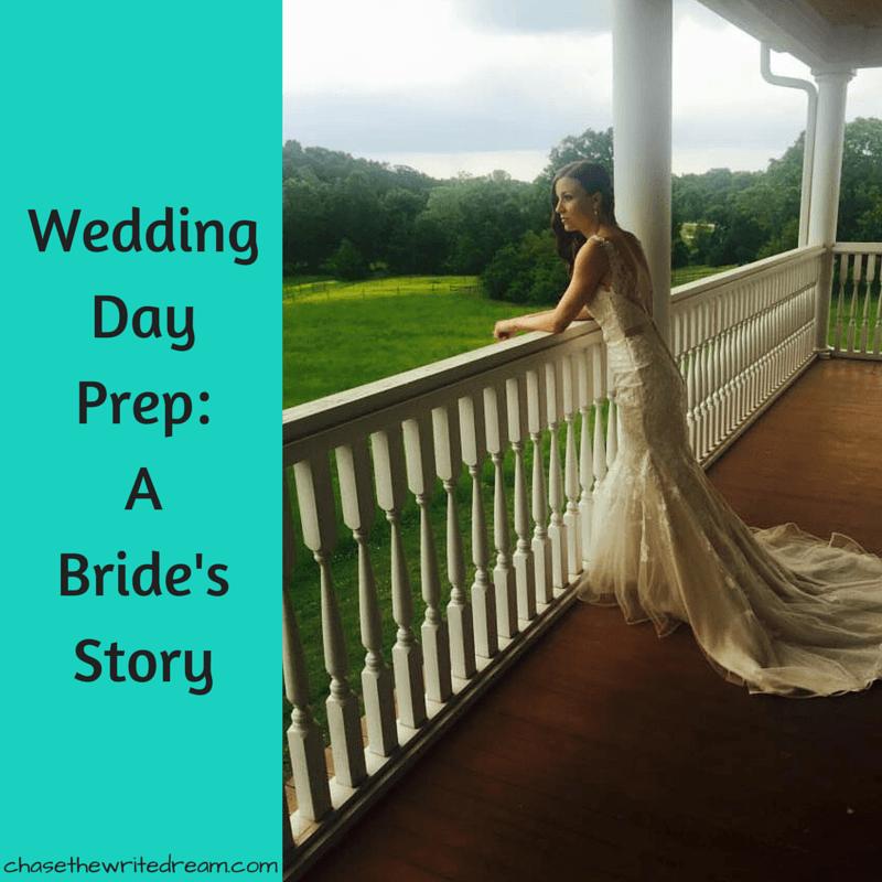 wedding day prep