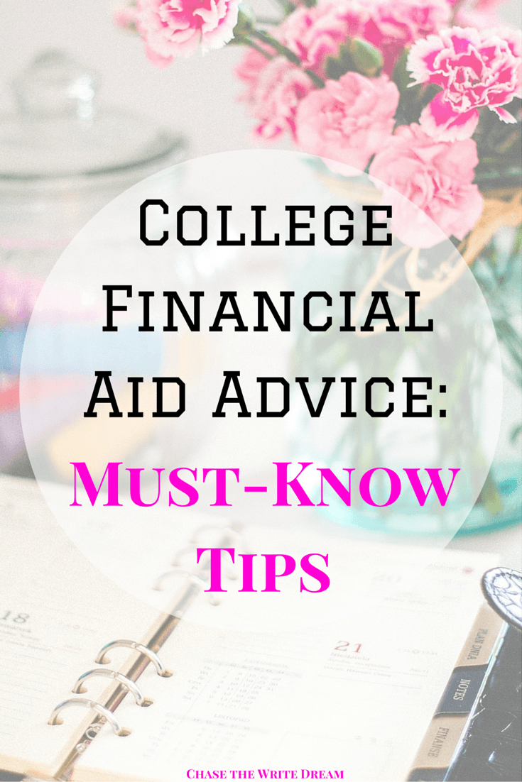 College Financial Aid Advice: Must-Know Tips for Students