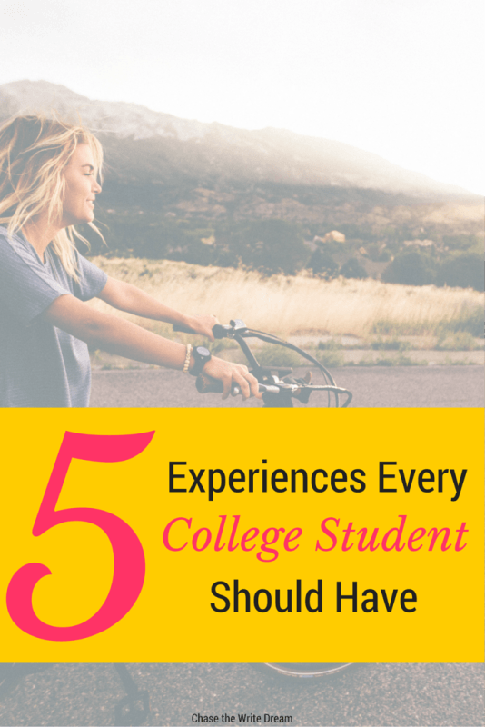 5 Experiences Every College Student Should Have | The college years are the perfect time to gain new experiences and take on new adventures. These tips will help you make the most of your time as a college student!
