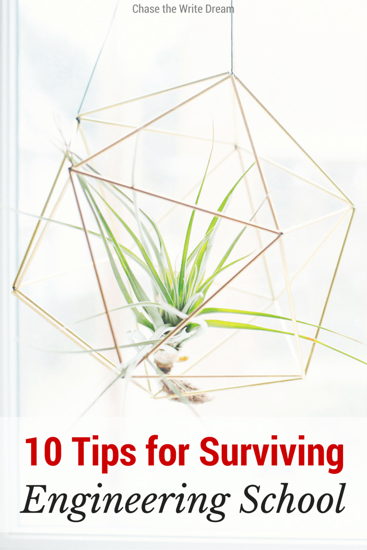 10 Tips for Surviving Engineering School: College students who are majoring in engineering... listen up! This is practical advice from a mechanical engineer who went through the program himself.