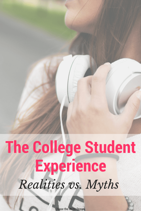 The College Student Experience: Realities vs. Myths   What is really true about being a college student? This post tells you what's fact or fiction when it comes to higher education. Lots of great advice and info included for current and former students