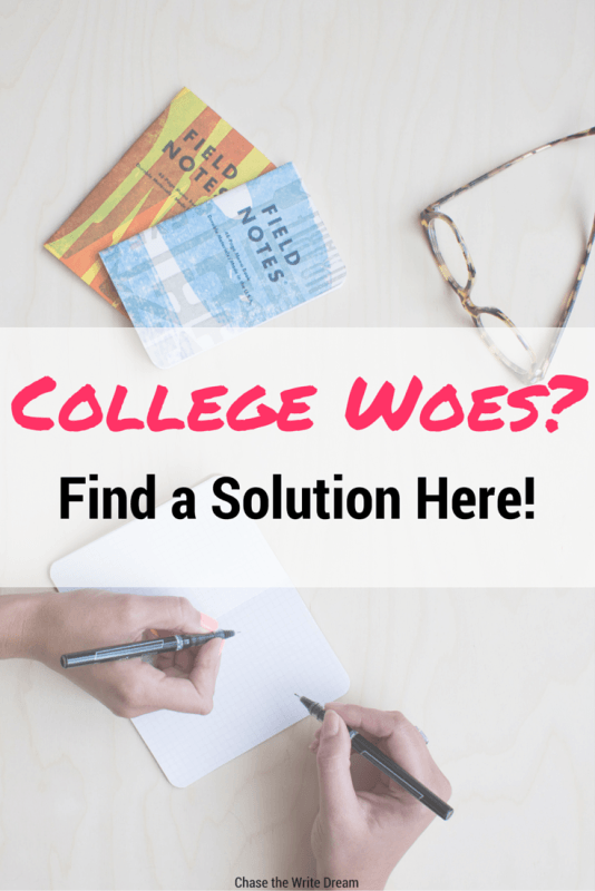 College Woes - Tackling College Student Slumps, Getting Good Grades, and More! | If you're struggling with studying or time management, or if you just need a pick-me-up, then repin this and read it!
