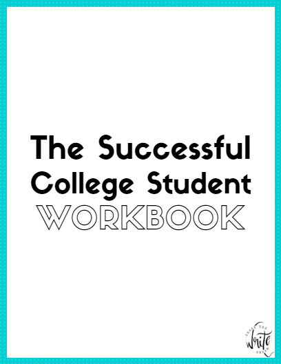 Be a successful college student with this workbook!