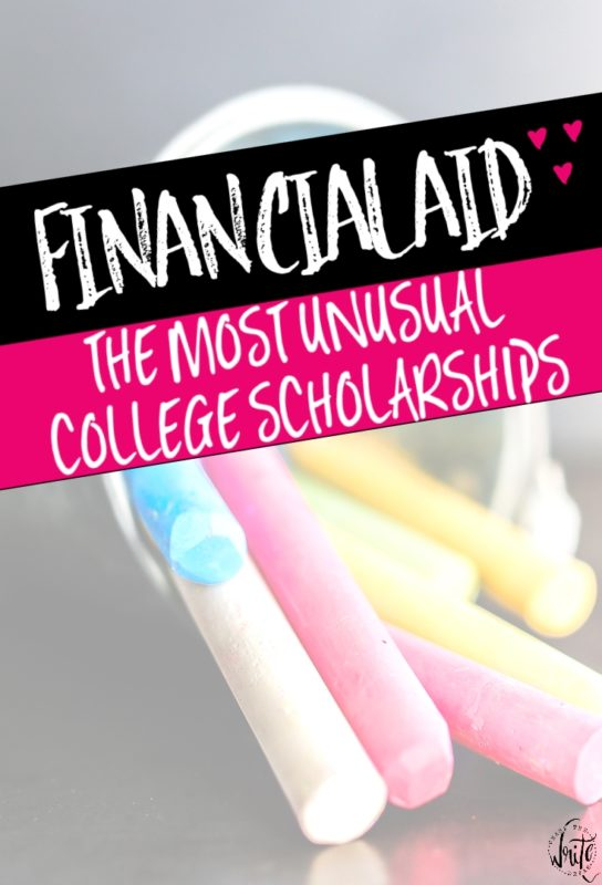 The Most Unusual College Scholarships | Supplement your financial aid with some of these great scholarships! Use your special skills to get some extra money for your college education. Click through to read the scholarships!