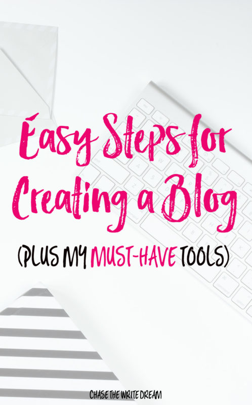 Easy Steps for Creating a Blog (Plus My Must-Have Tools) - Want to build a WordPress blog so you can start (hopefully) making some extra money blogging? Follow these easy to follow steps! Plus - find out which plugin helped increased my blog traffic in just a day by leveraging social media marketing and sharing. Click to learn more!