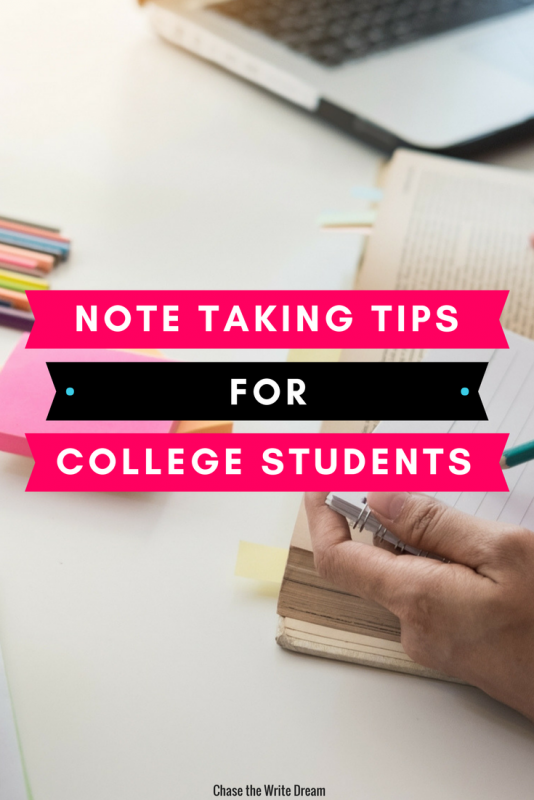 These college student note taking tips will improve your memory and increase your productivity while studying. #college #education