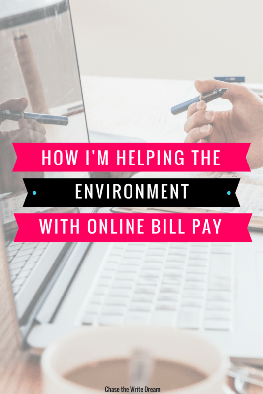 Reduce your environmental impact by making small changes at home, including opting for online bills instead of paper ones!