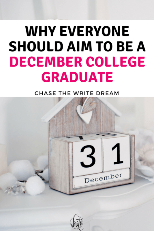 Thinking about graduating college early? This argument for finishing school in December is full of solid reasons, including starting a career, saving money, and more!