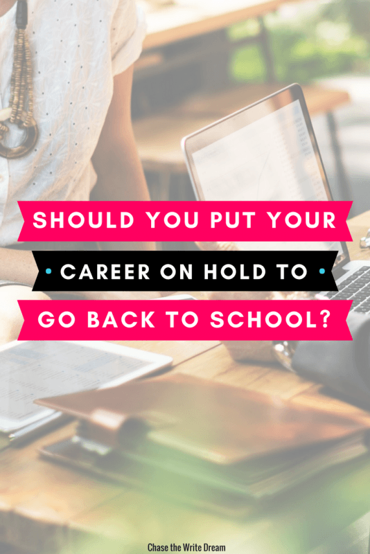 To go back to school or not - that's the question. Putting your career on hold is a big decision. Consider things like work/life balance, finances, and more before you make your decision. Click for more guidance!