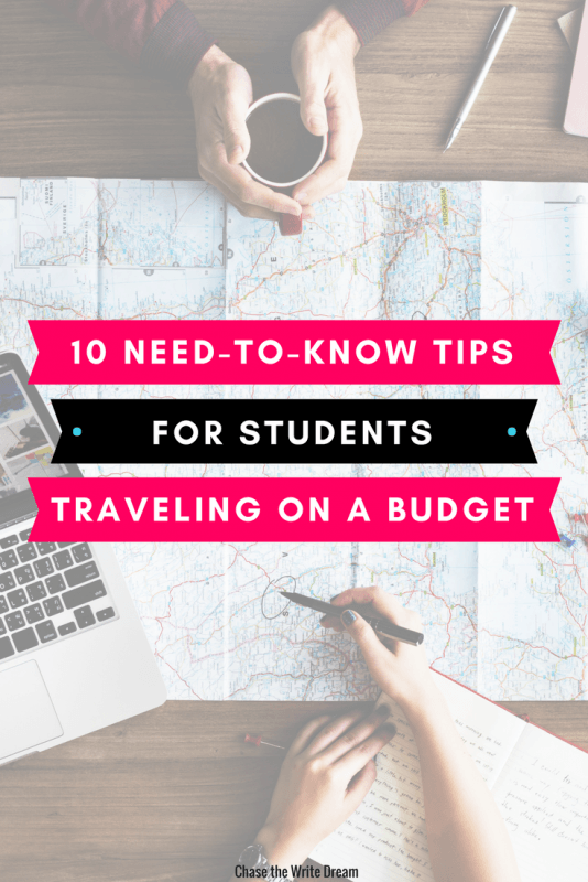 Tips for traveling on a budget. Are you looking to take a trip, whether as a college student or adult, but don't have a lot of money to spend? Then these money saving travel tips are for you!