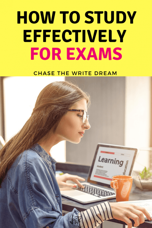 How to Study Effectively for Exams - college student tips for getting your best test grades possible.