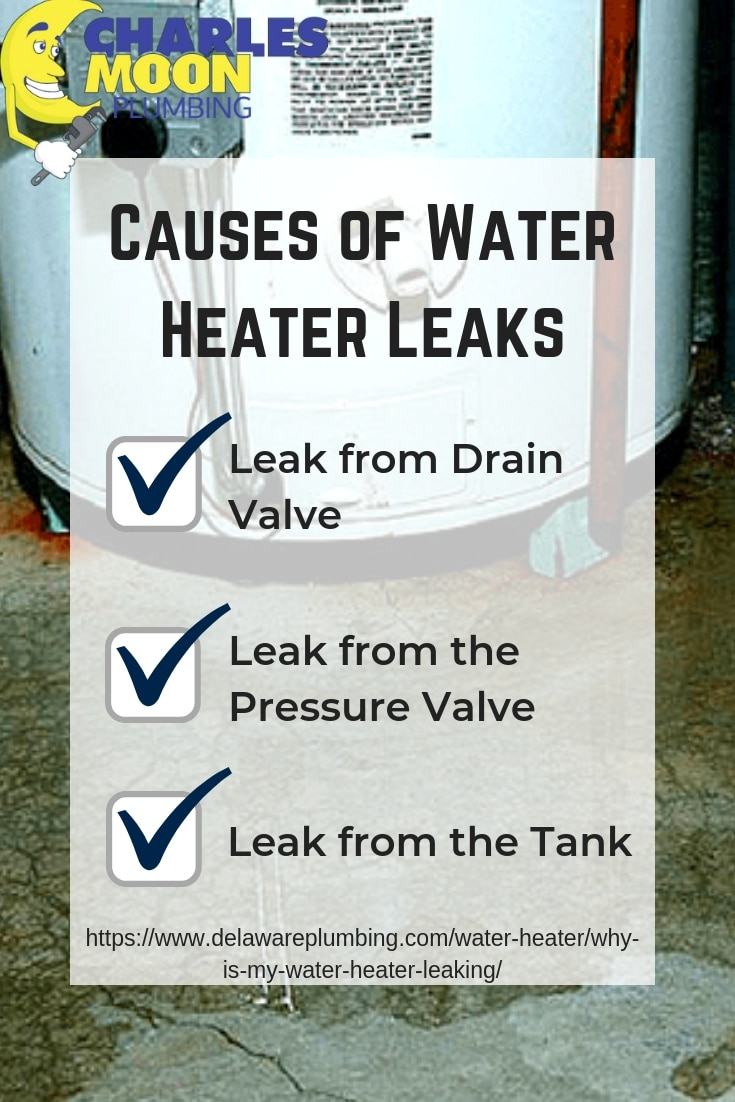 Why is my Water Heater Leaking