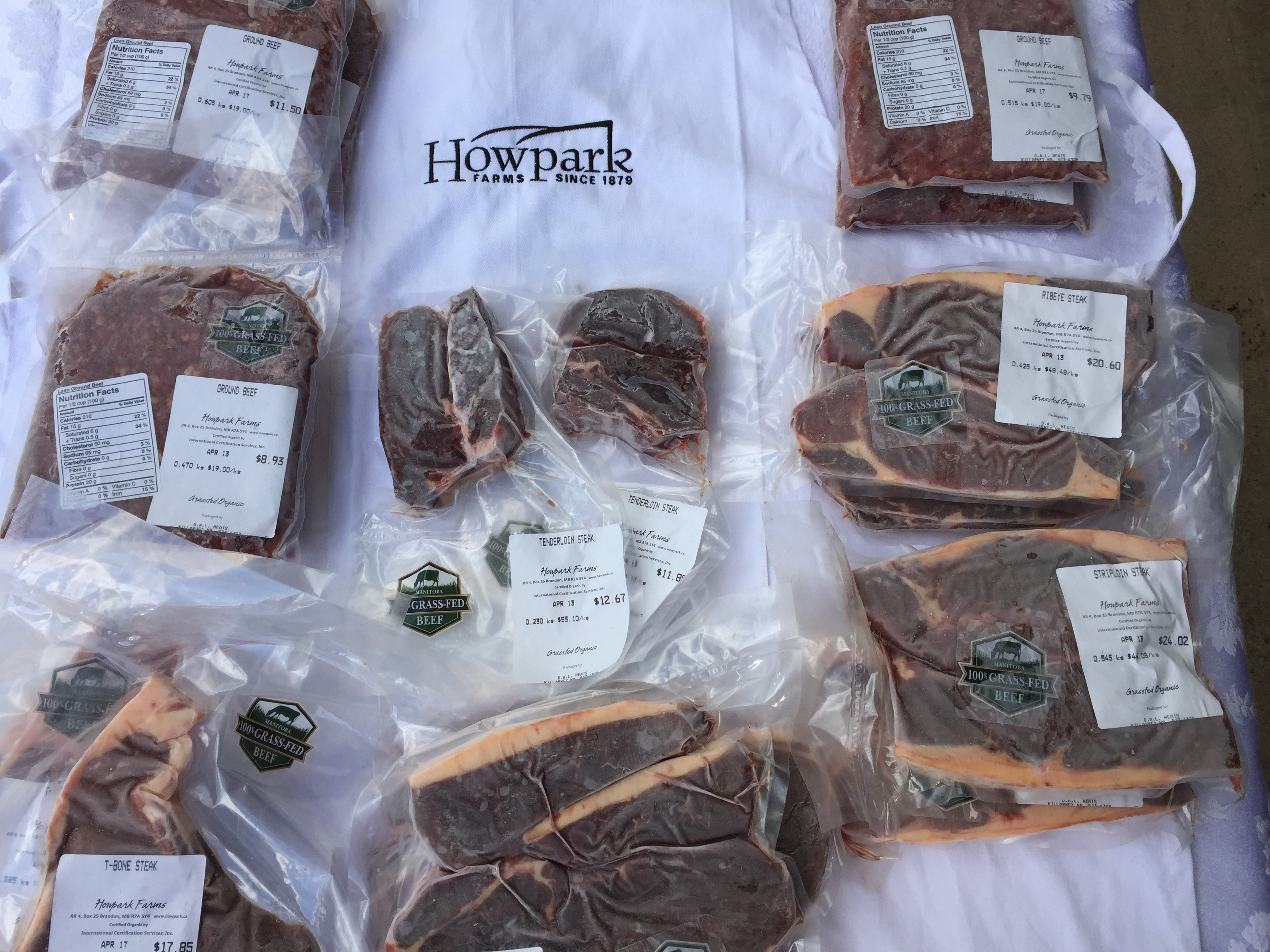Grass-fed beef Variety Packages now available