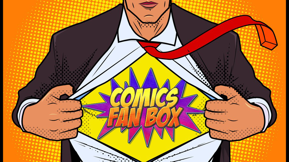 The Comic Shoppe In A Box - Comics Fan Box - comicsfanbox.com