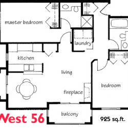 West 56 Suites Floor Plans