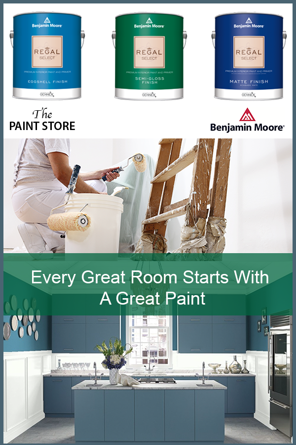 Every Great Room Starts with a Great Paint - Regal Select