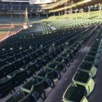 wrigley field seating installation east