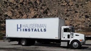 Hauserman Installs Box Truck