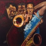 HBCU_2015_Veronica-Carter-Miles-Mingus-and-Trane-Oil-on-Canvas-2014
