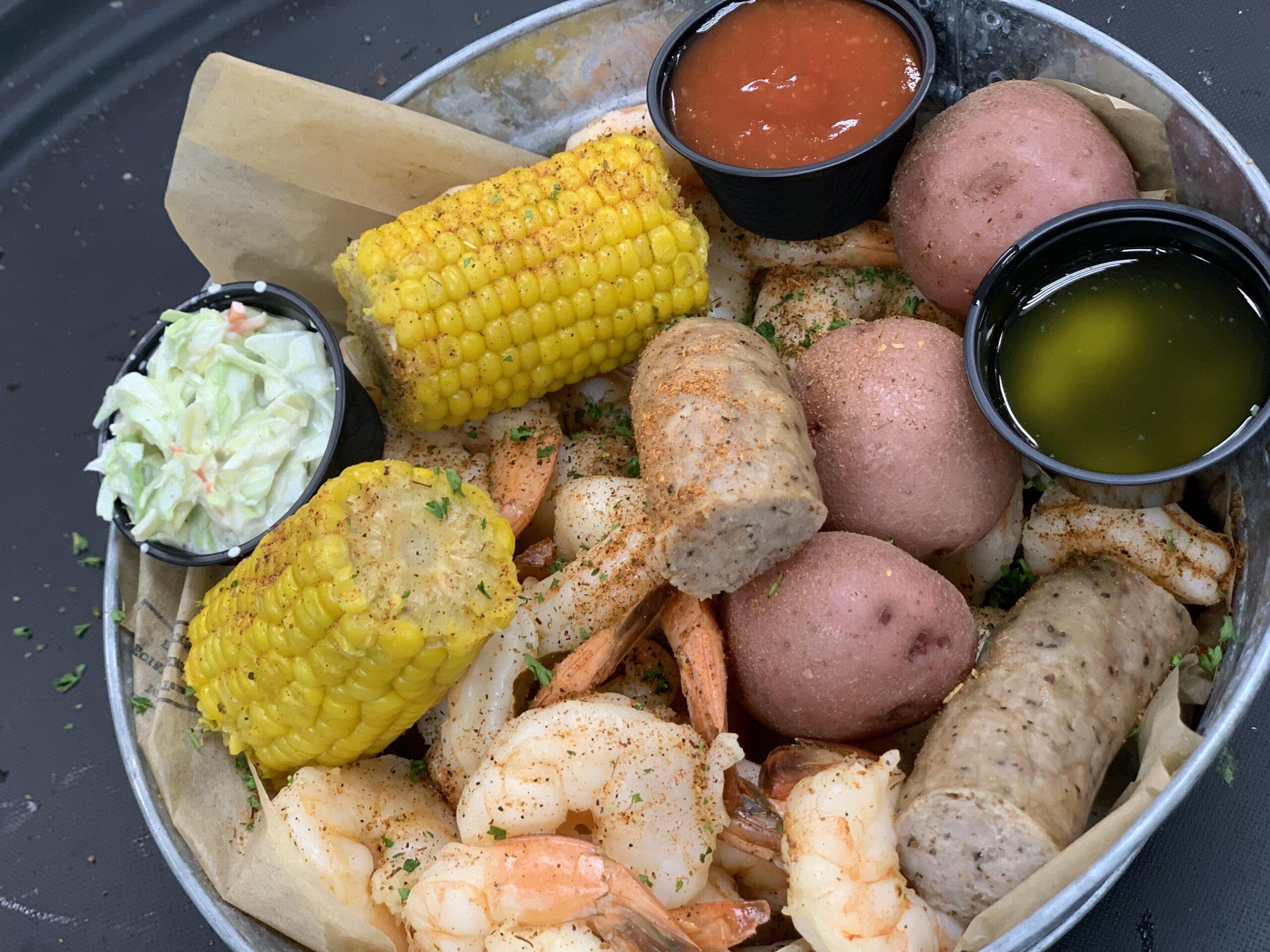 Boiled Shrimp Bucket