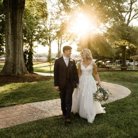 bride-and-groom-portrait-The-Brawley-Estate-Mooresville-North-Carolina-Histoirc-and-Timeless-Event-Venue