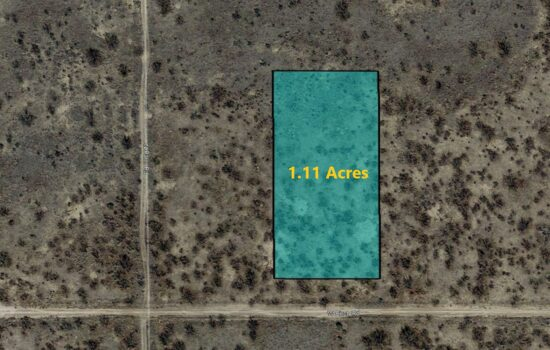 1.11 Acres of fertile land on W Perry St in Cochise County, AZ! Invest Now! – 119-06-206
