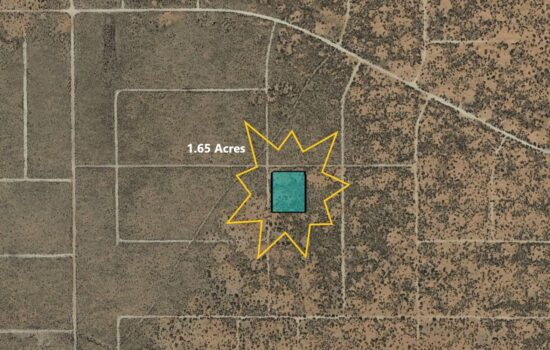 1.65 Acre lot on Circle St in El Paso, Texas – H779-019-1650-0060