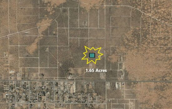 0.25 Acre lot near Darrington Rd in El Paso, Texas! INVEST NOW!! – H793-013-0620-0060
