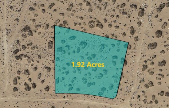1.92 Acre lot on Amsterdam Dr in El Paso, Texas – H779-059-4480-0120