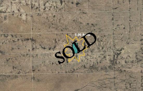 5.00 Acre lot near La joya Dr in El Paso, Texas – X607-000-0190-0370