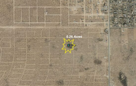 0.26 Acre lot on Turlare Ct in El Paso, Texas! INVEST NOW!! – H793-006-0430-0160