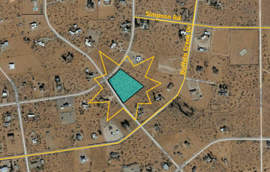 3.51 Acre Corner Lot in a Prime Residential Area! BUY NOW!!!- H010-000-0230-0070