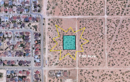 1.00 Acre lot on Bell Port in El Paso, Texas! INVEST NOW!!- H779-059-4460-0100