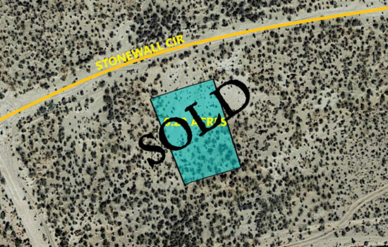 0.23 Acres on Stonewall Cir in El Paso, Texas! INVEST NOW!!- M831-059-4220-0600