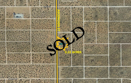 0.22 Acres on Ascencion St in El Paso, Texas! INVEST NOW!!- H779-068-5370-0160