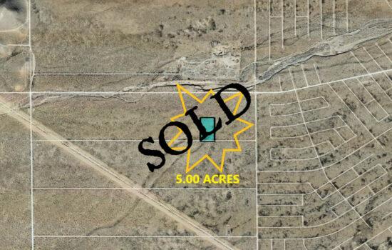 5 Acres North of Horizon Blvd in El Paso, Texas! INVEST NOW!!- X577-000-3080-0220