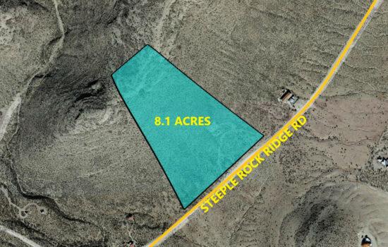 8.1 Acres Near Hueco Tanks in El Paso, Texas! INVEST NOW!!- H799-001-0070-2300