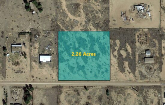 2.26 Acres of fertile land on E Cochise Way in Cochise County, AZ! Invest Now! – 118-06-030