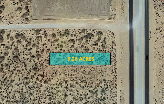 0.26 Acres on Ascencion St in El Paso, Texas! INVEST NOW!!- H779-048-3550-0330