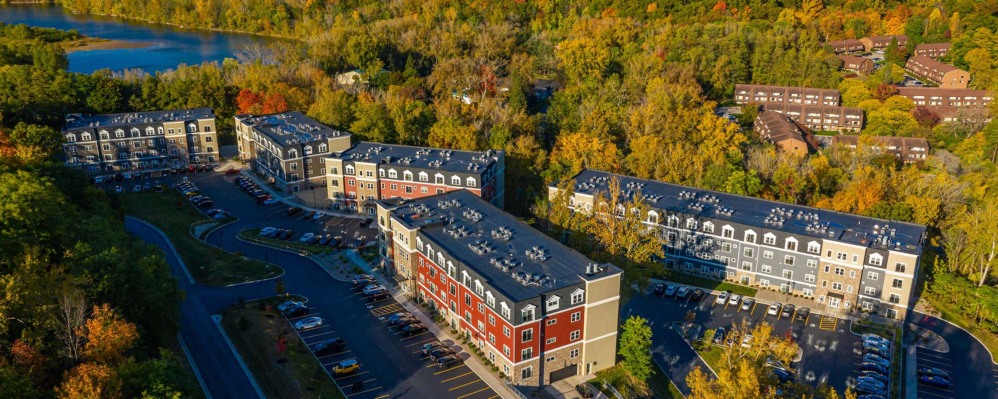 Ellison Heights from above