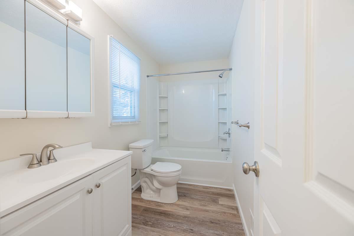 Townhome Upstairs Bathroom