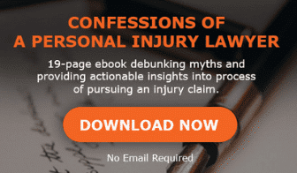 eBook banner - confessions of a personal injury lawyer