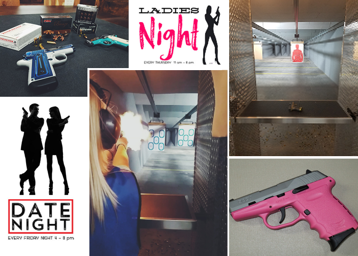Ladies Night at Country Folks Superstore gun range