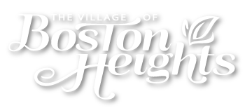 The Village of Boston Heights Logo